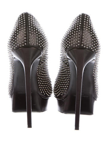 Studded Janis Pumps