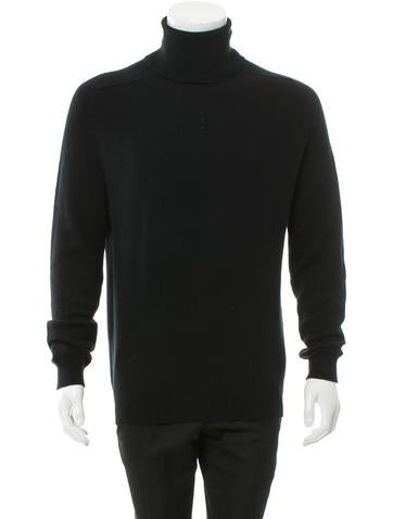 Saint Laurent Cashmere Turtleneck Sweater None