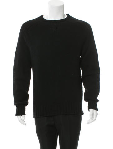 Saint Laurent Wool Crew Neck Sweater w/ Tags None