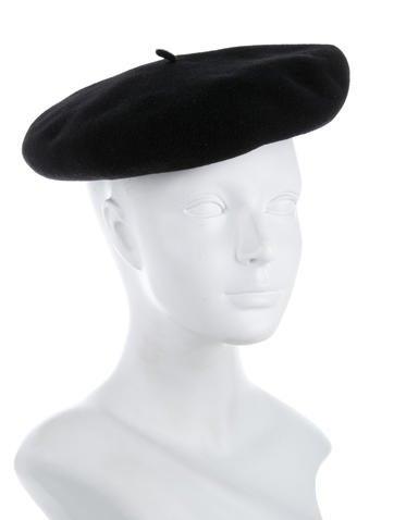 Black Wool Beret w/ Tags