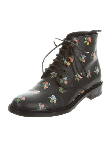 Prairie Flower Grunge Ankle Boots w/ Tags