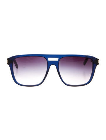 Saint Laurent SL 87 Flat Top Sunglasses