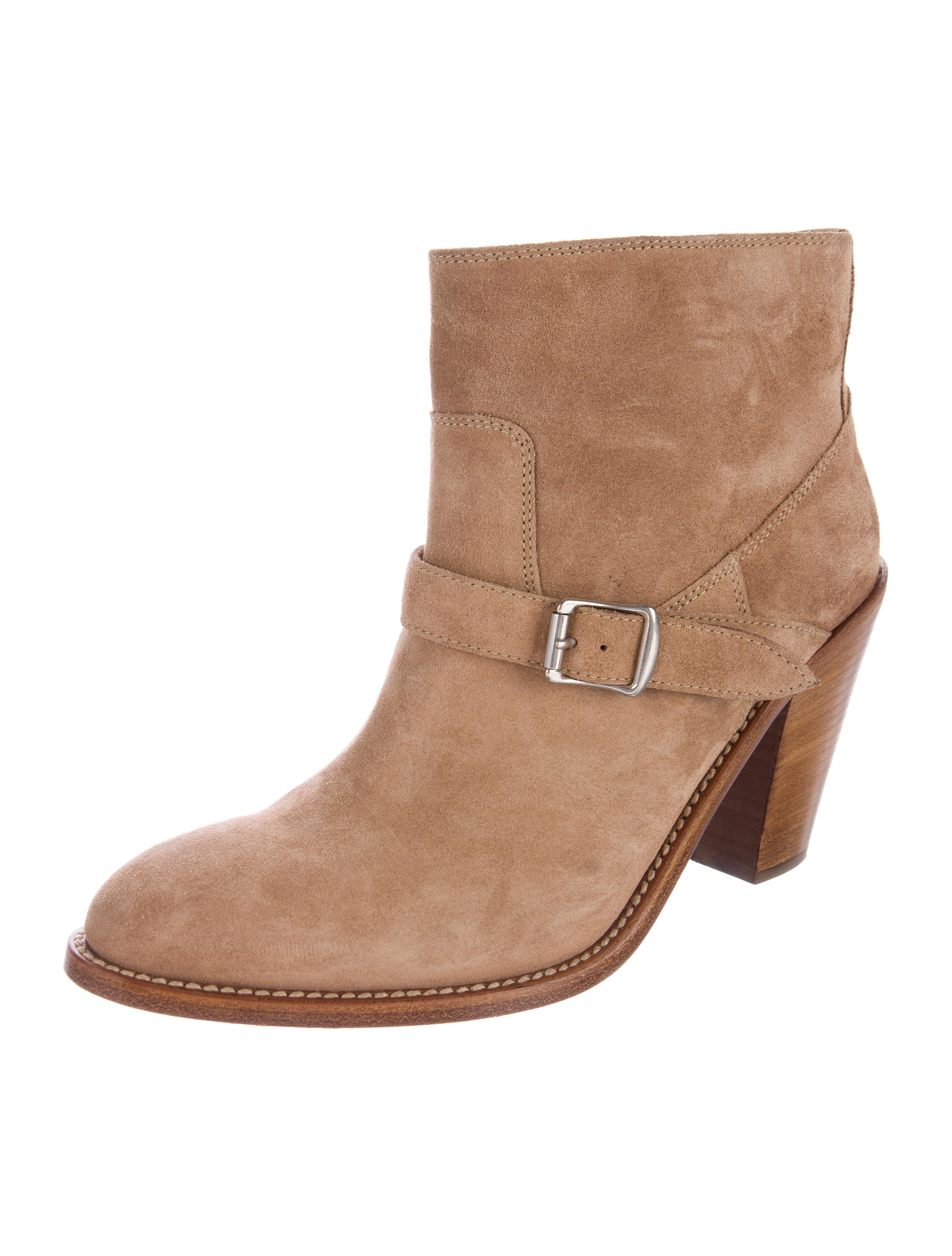 laurent suede toe ankle boots shoes