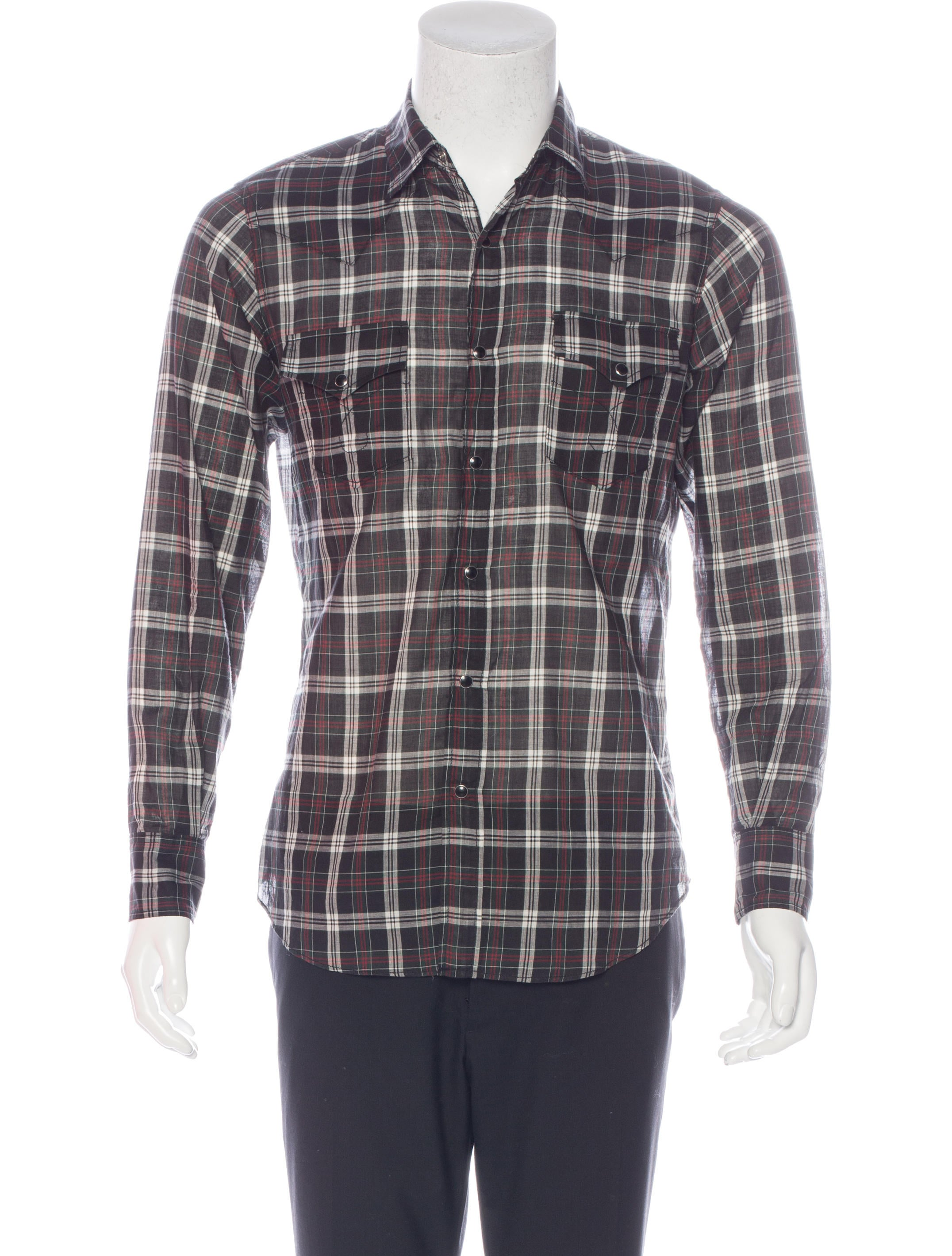 Free shipping BOTH ways on wrangler long sleeve plaid western shirt, from our vast selection of styles. Fast delivery, and 24/7/ real-person service with a smile. Click or call