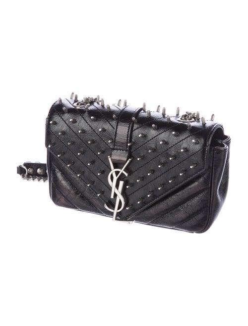 e4e65452eb ... Yves Saint Laurent 2015 Classic Baby Punk Monogram Shoulder Bag ...