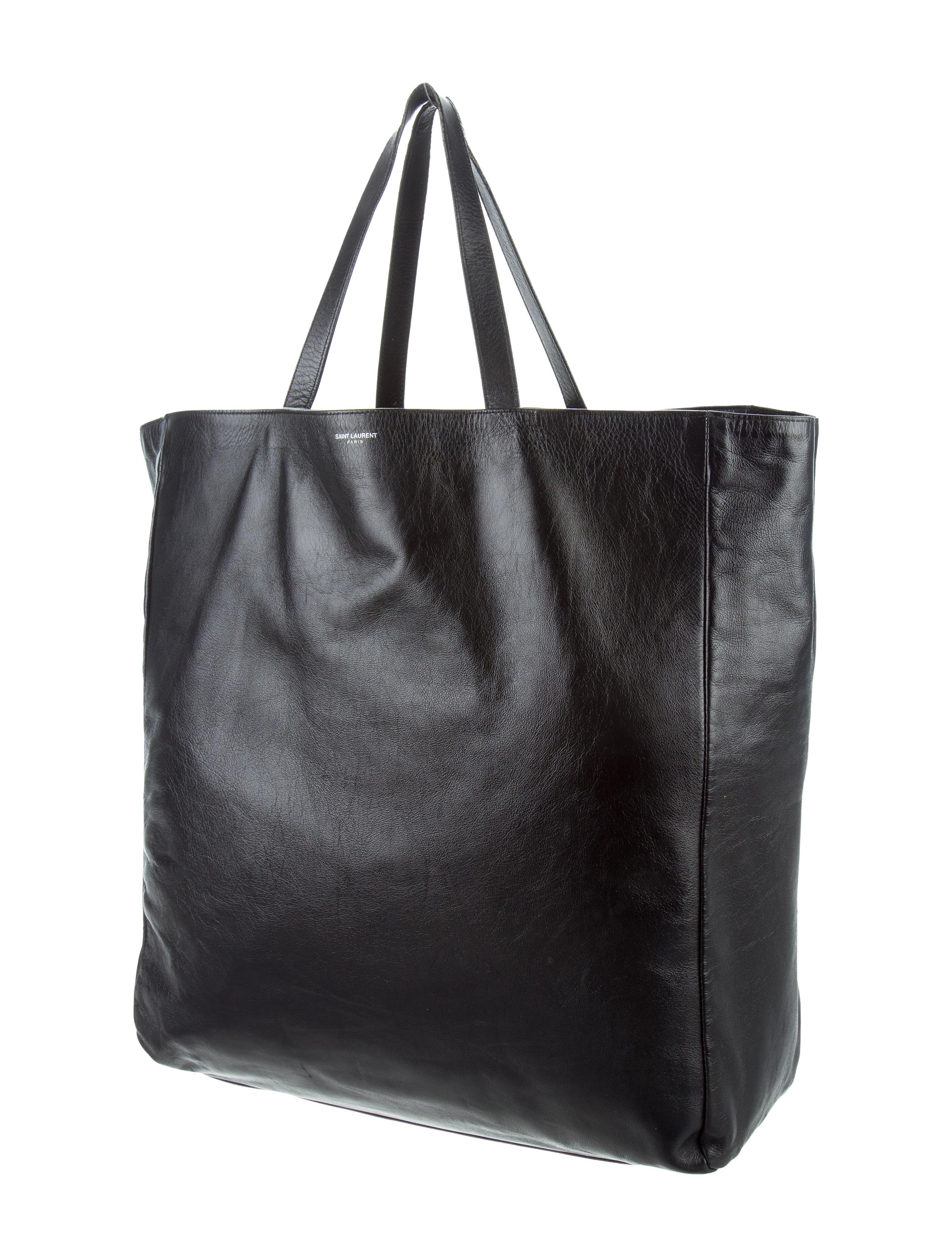 saint laurent reversible shopper tote handbags. Black Bedroom Furniture Sets. Home Design Ideas