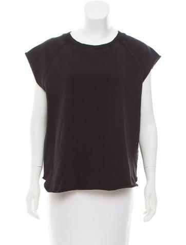 Saint Laurent 2015 Sleeveless Sweatshirt None