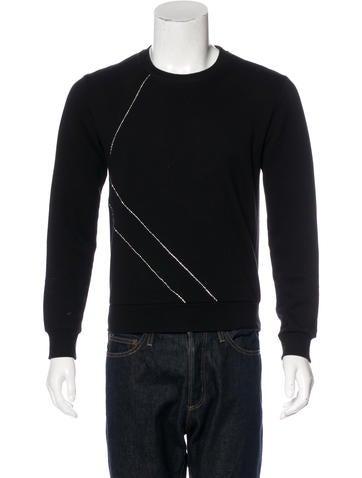 Saint Laurent 2015 Jewel-Embellished Sweatshirt None