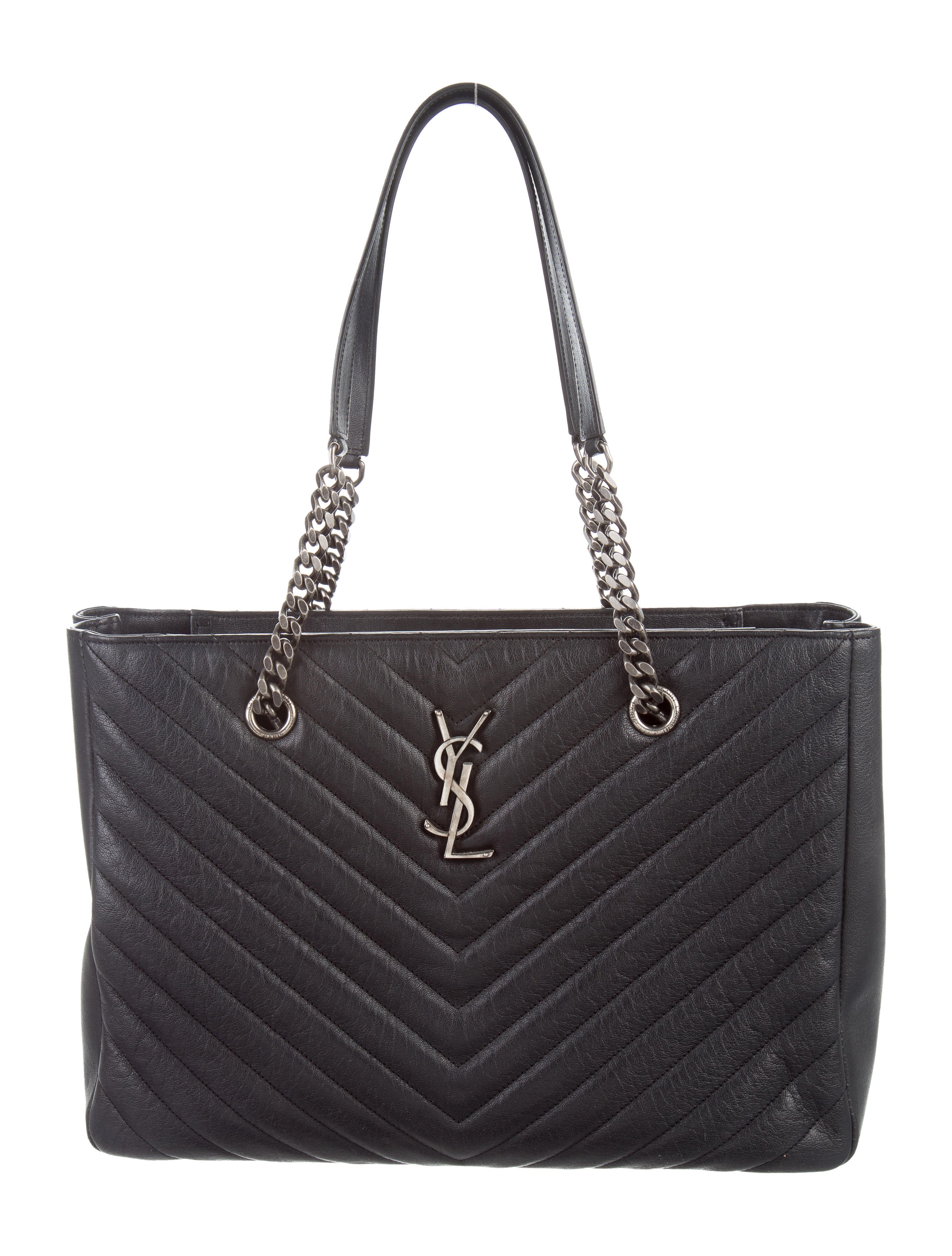 Saint Laurent 2015 Chevron Quilted Monogram Bag Handbags  : SNT385641enlarged from www.therealreal.com size 2937 x 3874 jpeg 999kB