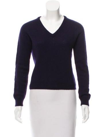 Saint Laurent Wool Knit Sweater None