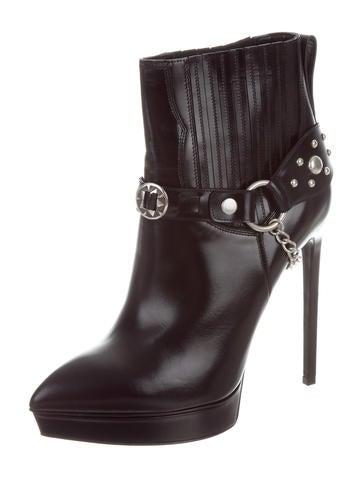 Saint Laurent Janis 105 Ankle Boots w/ Tags cheap buy P3WD4R