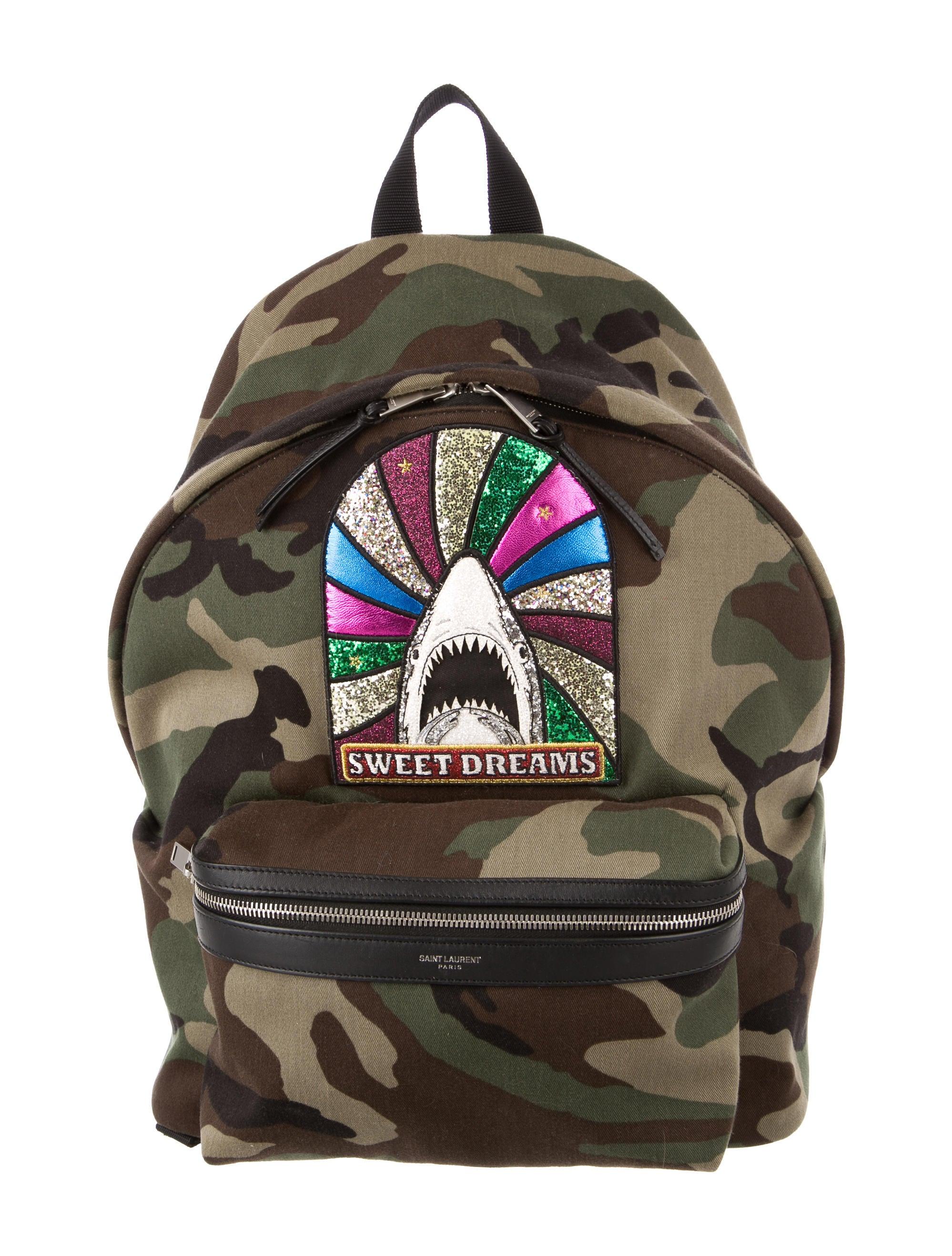1e8cc013b3 Saint Laurent Giant City Sweet Dreams Backpack - Handbags - SNT39734 ...