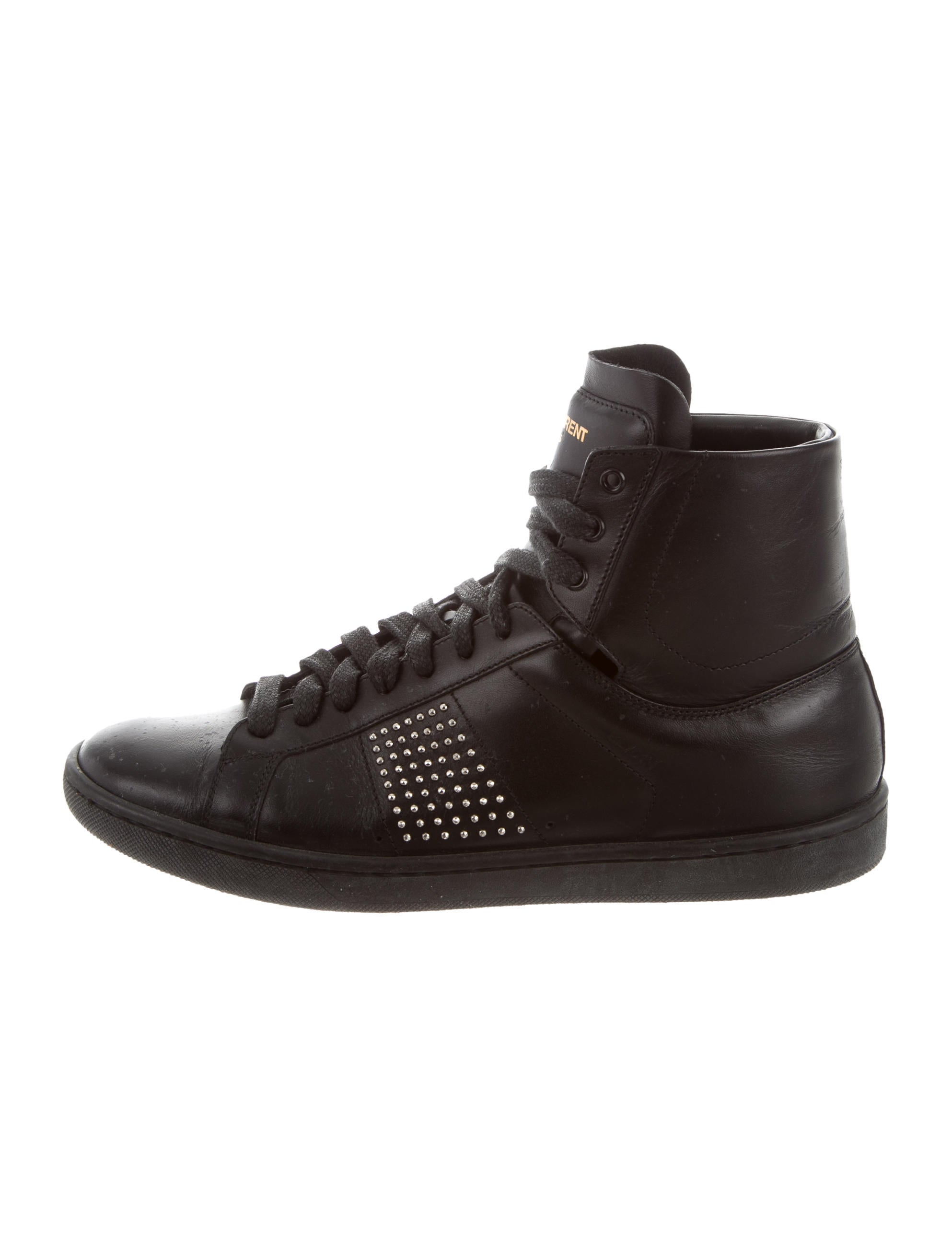 Saint Laurent SL/01H Studded Sneakers deals cheap online Cheapest sale online discount limited edition gRkFN