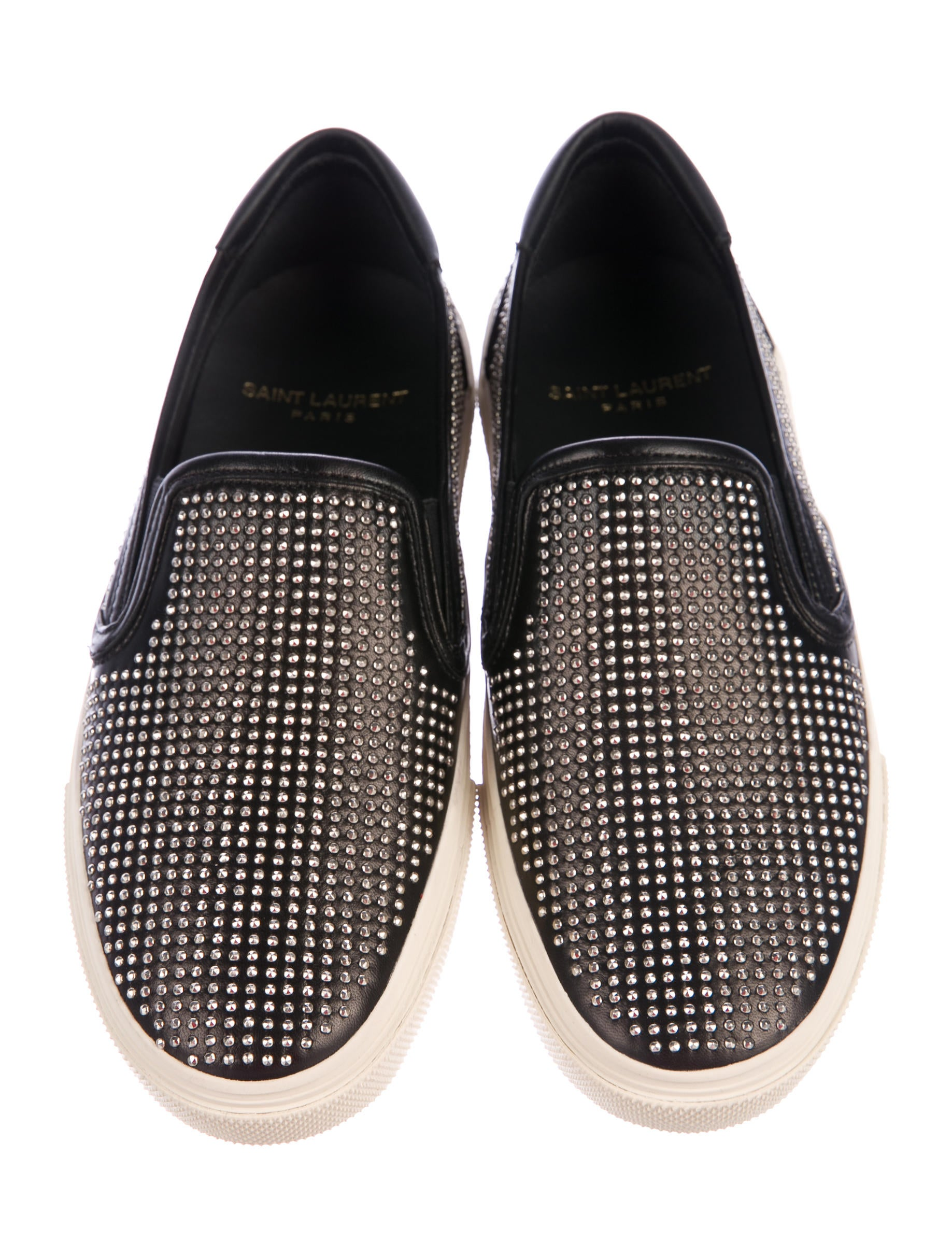 Saint Laurent Skate Studded Sneakers w/ Tags amazon footaction free shipping order IzaY6Uci