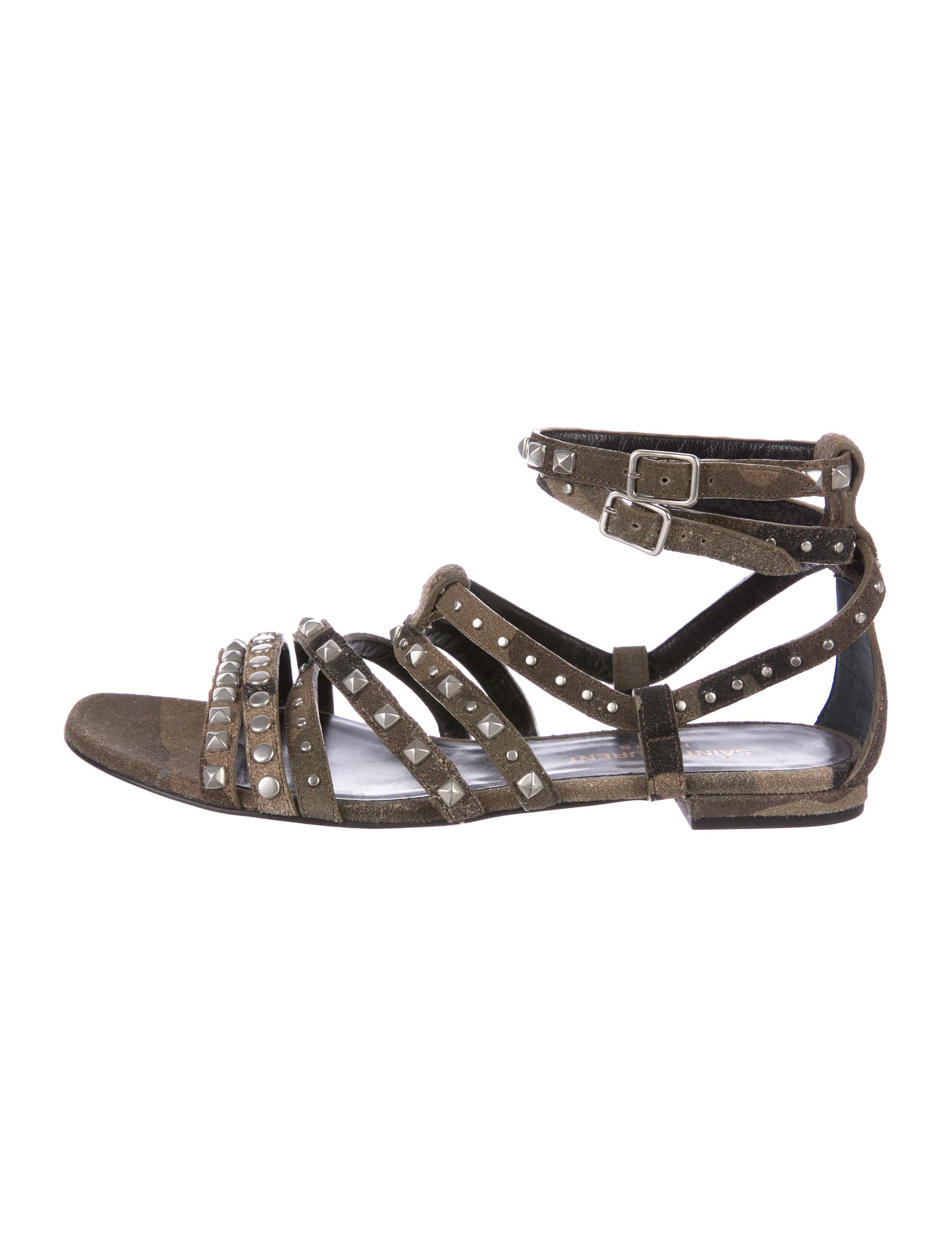 clearance sale online discount in China Saint Laurent Nu Pieds Gladiator Sandals sast online discounts sale online buy cheap fake QoBEFE