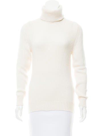 Saint Laurent Cashmere Turtleneck Sweater None