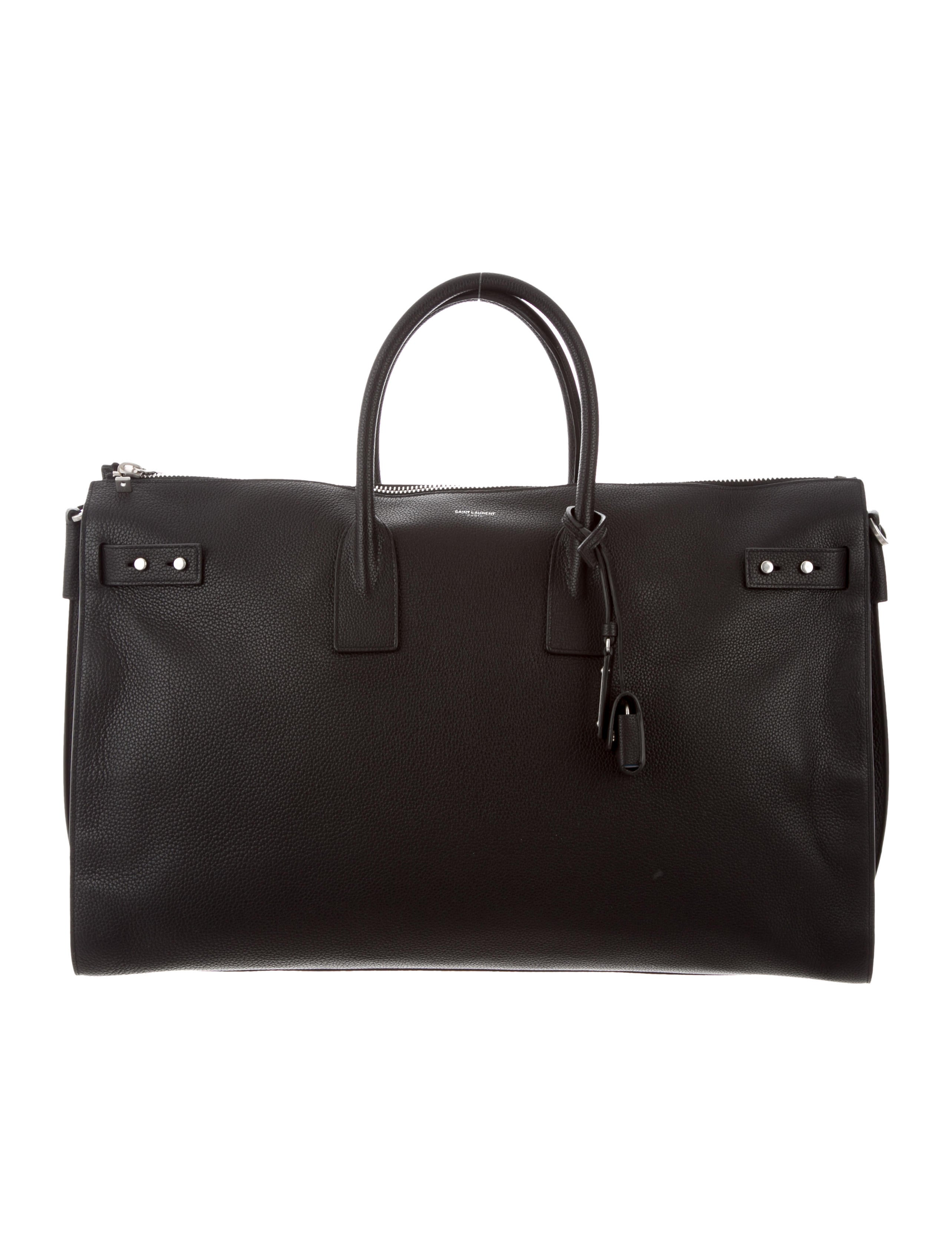 5802593d4f Saint Laurent Large Sac de Jour Souple 48H Duffel Bag w  Tags - Bags ...