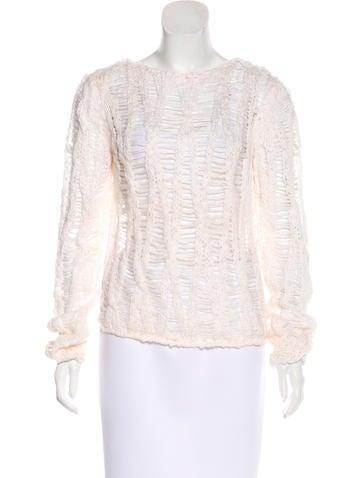 Saint Laurent Virgin Wool Sweater None