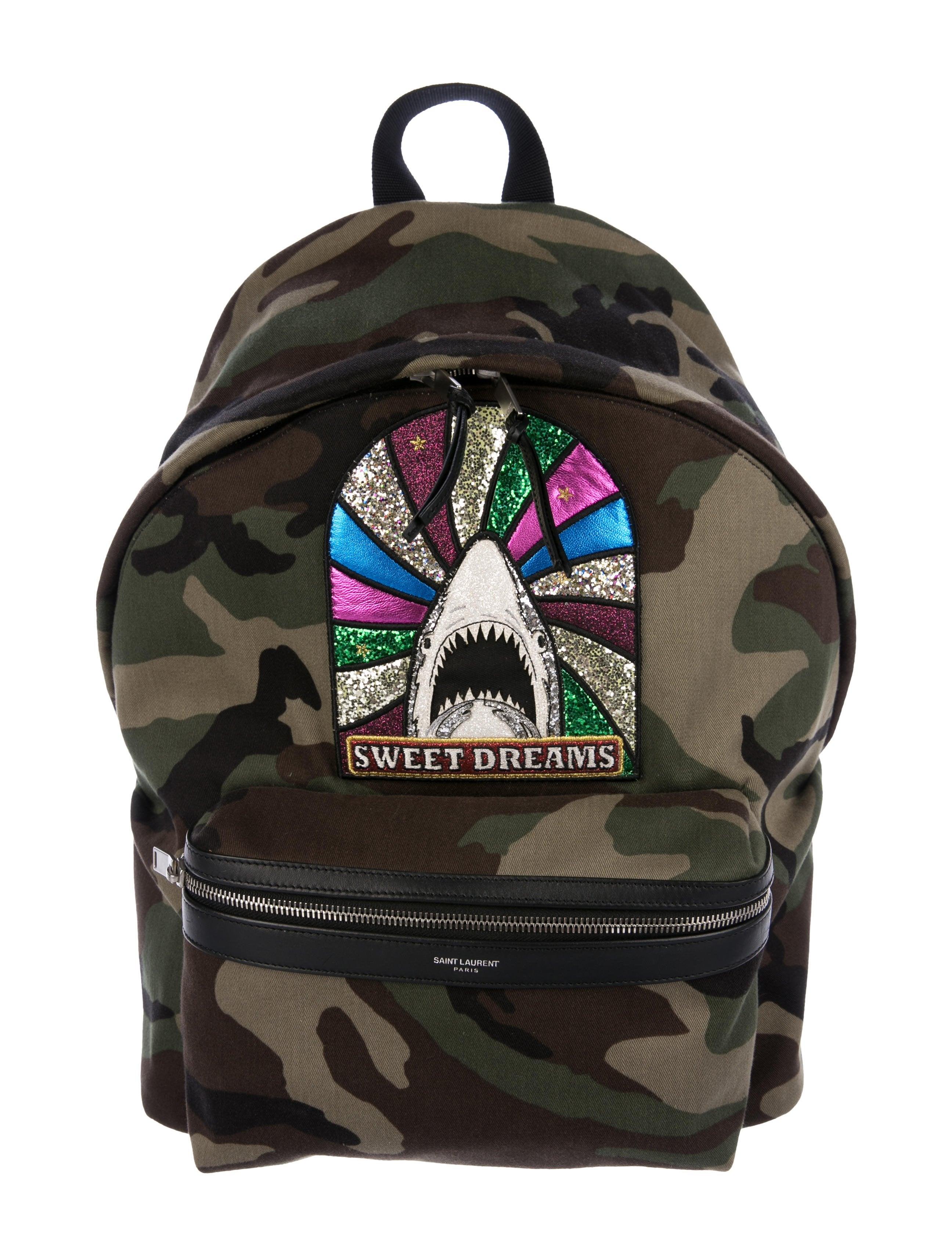 97e2c78535 Saint Laurent Giant City Sweet Dreams Backpack - Bags - SNT44640 ...