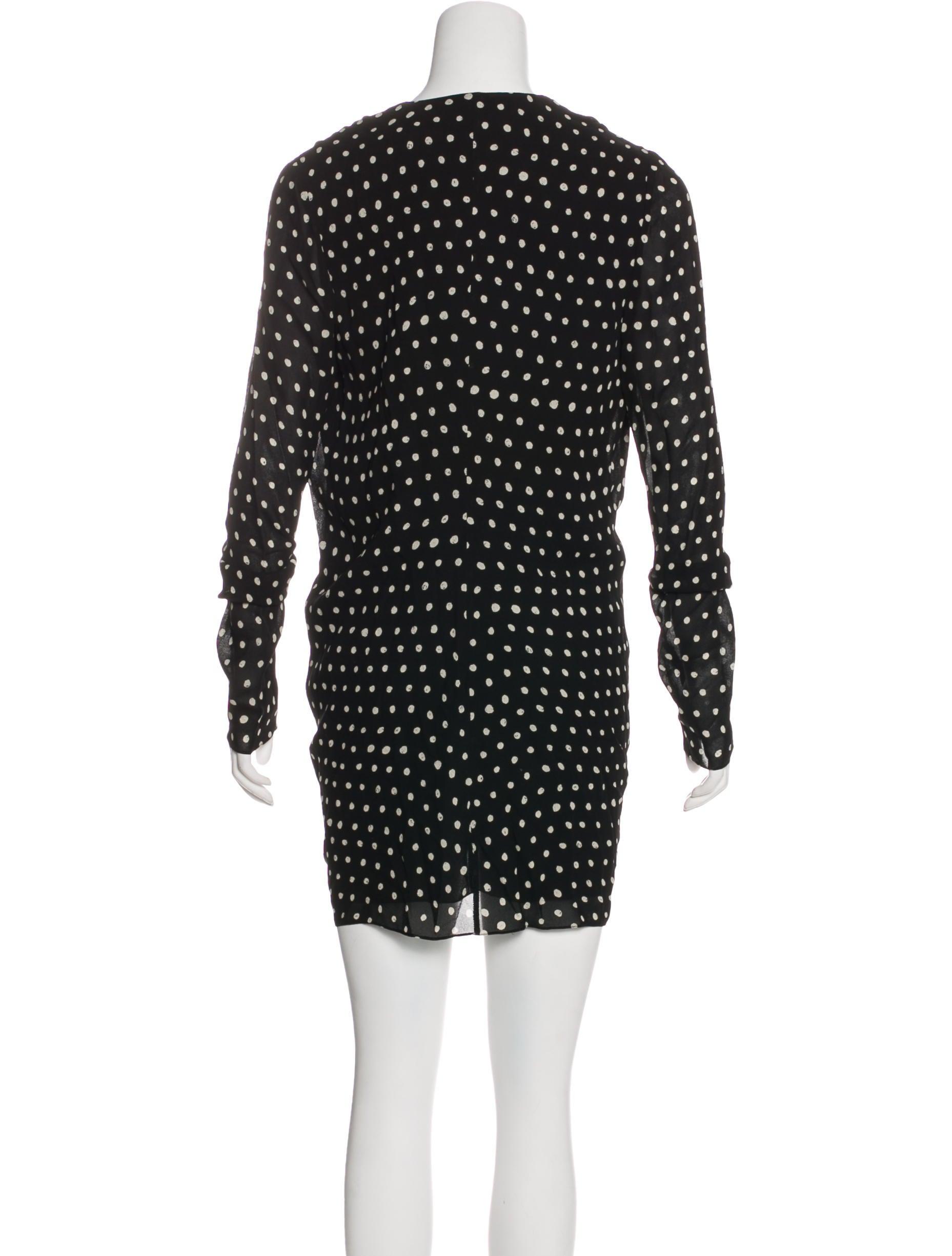 04f0086c43 Saint Laurent 2018 Polka Dot Dress w  Tags - Clothing - SNT45916 ...