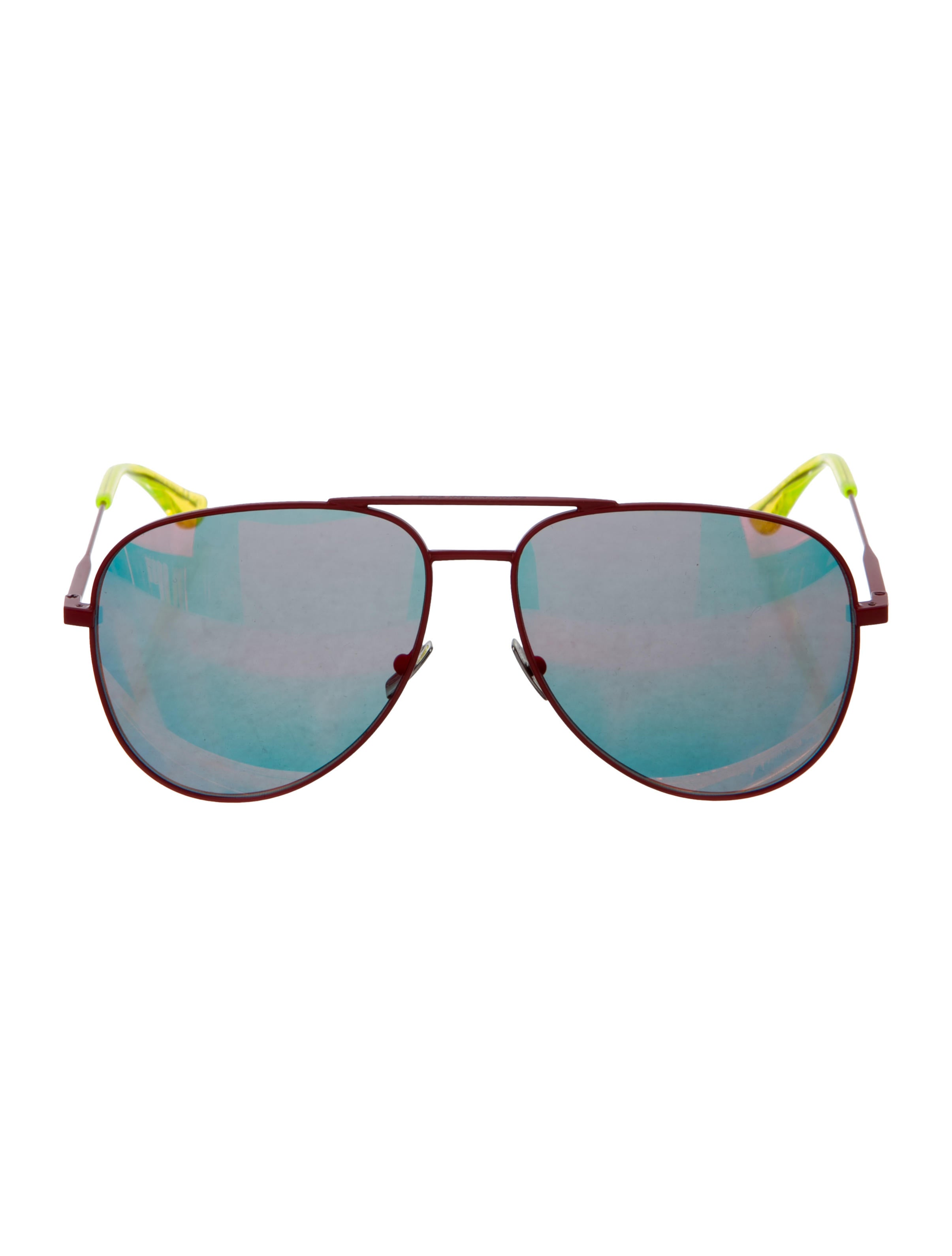 52886d66ebbd1a Saint Laurent Classic 11 Surf Aviator Sunglasses - Accessories ...