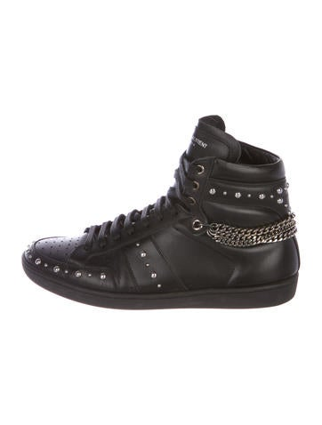 cffe3a93648a Saint Laurent. SL 22H Leather Sneakers. Size