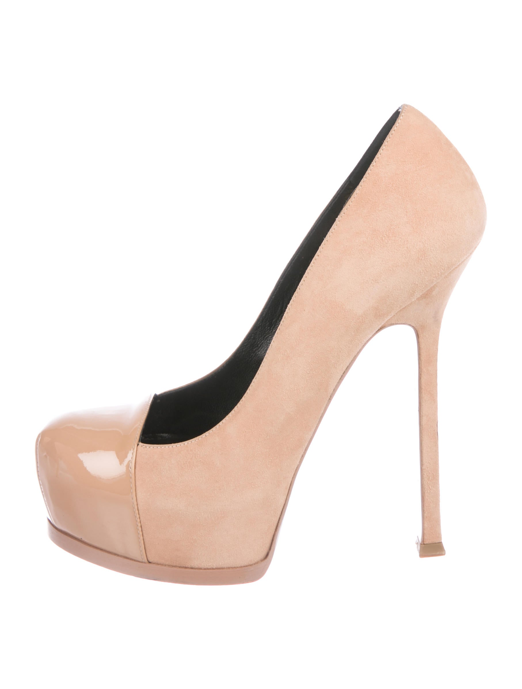ebbe9a14cf0 Saint Laurent Yves Saint Laurent Tribute Two Platform Pumps - Shoes ...