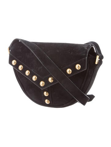 Saint Laurent. Y-Studded Crossbody Bag c299240133