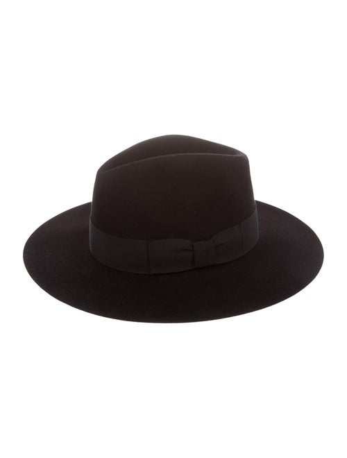 53907356f35 Saint Laurent Fedora Wide-Brim Hat - Accessories - SNT65700