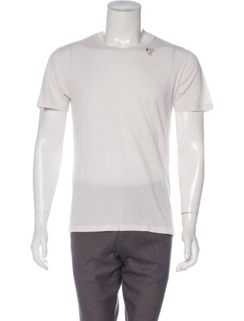 Saint Laurent 2018 Skull T-Shirt grey