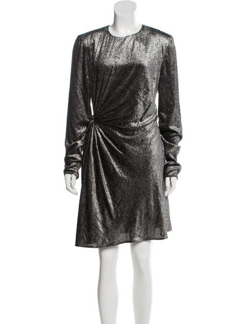 Saint Laurent 2018 Fil Coupé Dress w/ Tags Black - image 1