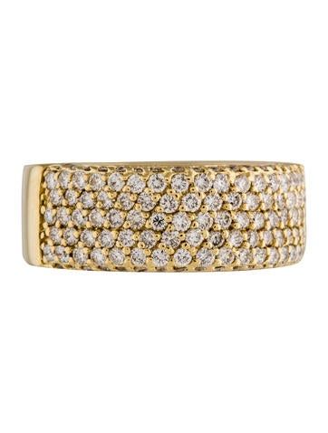 Sonia B 18K Cascading Diamond Pave Band
