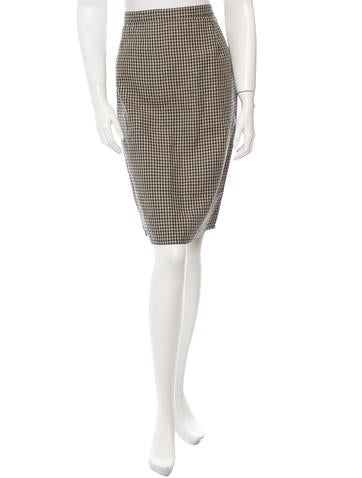 Sonia Rykiel Linen Skirt