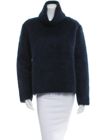 Sonia Rykiel Tetured Cowl Neck Sweater w/ Tags None