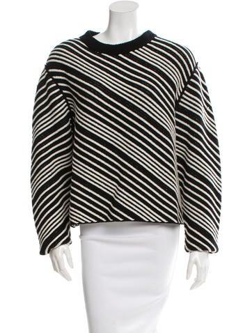 Sonia Rykiel Diagonal Terry Sweater None