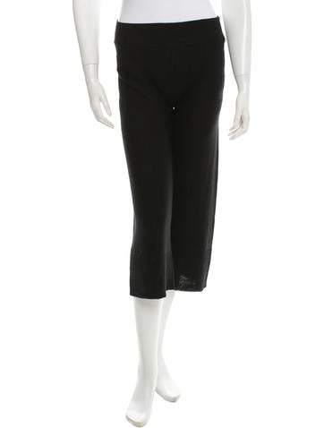 Sonia Rykiel Cropped Flared Pants w/ Tags None