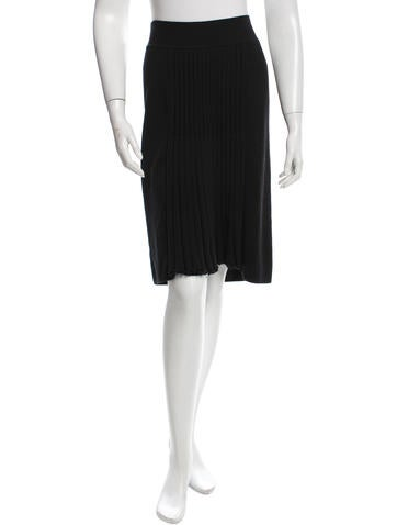 Sonia Rykiel Knit Knee-Length Skirt w/ Tags None