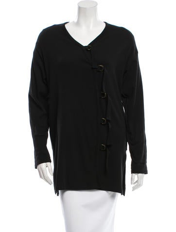 Sonia Rykiel Knit V-Neck Cardigan None