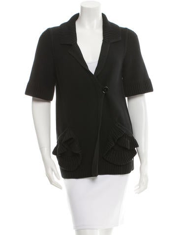 Sonia Rykiel Short Sleeve Cardigan None