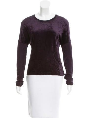 Sonia Rykiel Knit Long Sleeve Top None