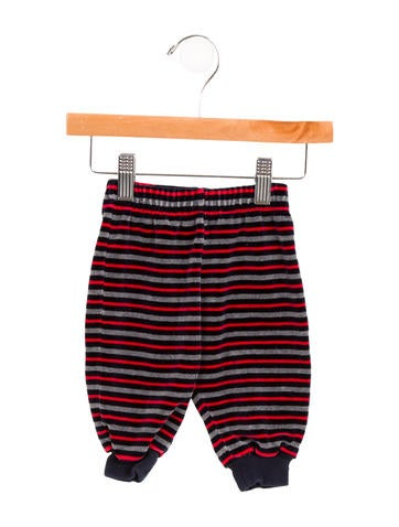 Sonia Rykiel Girls' Velvet Striped Pants None