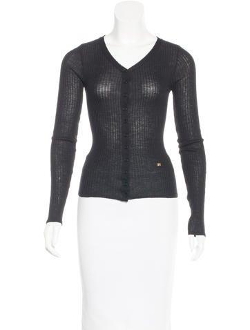 Sonia Rykiel Wool & Silk-Blend Cardigan None