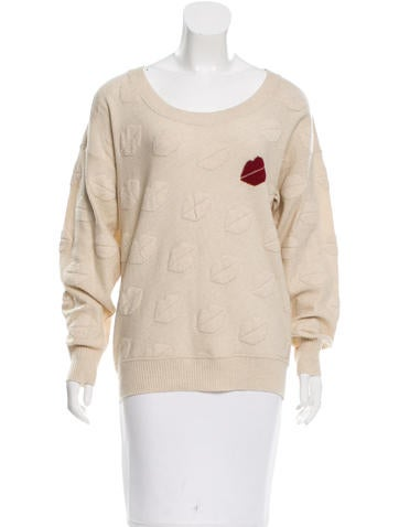 Sonia Rykiel Wool Embroidered Sweater None