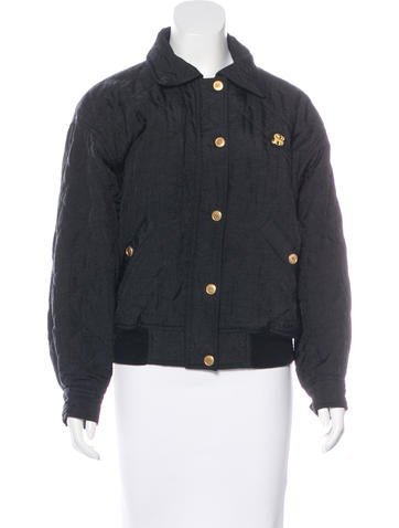 Sonia Rykiel Quilted Long Sleeve Jacket None