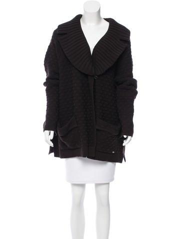 Sonia Rykiel Oversize Wool Cardigan None