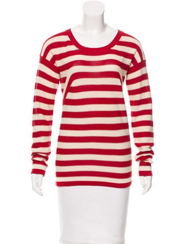 Sonia by Sonia Rykiel l Striped Long Sleeve Sweater None