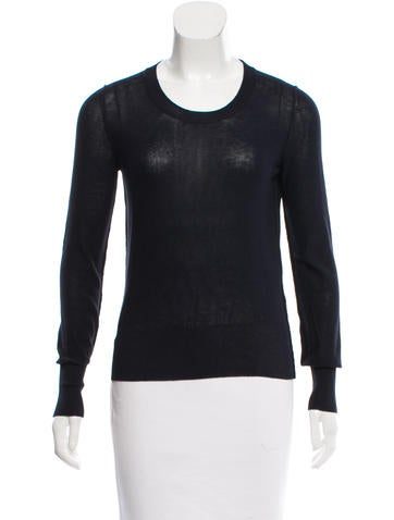 Sonia Rykiel Long Sleeve Knit Top None