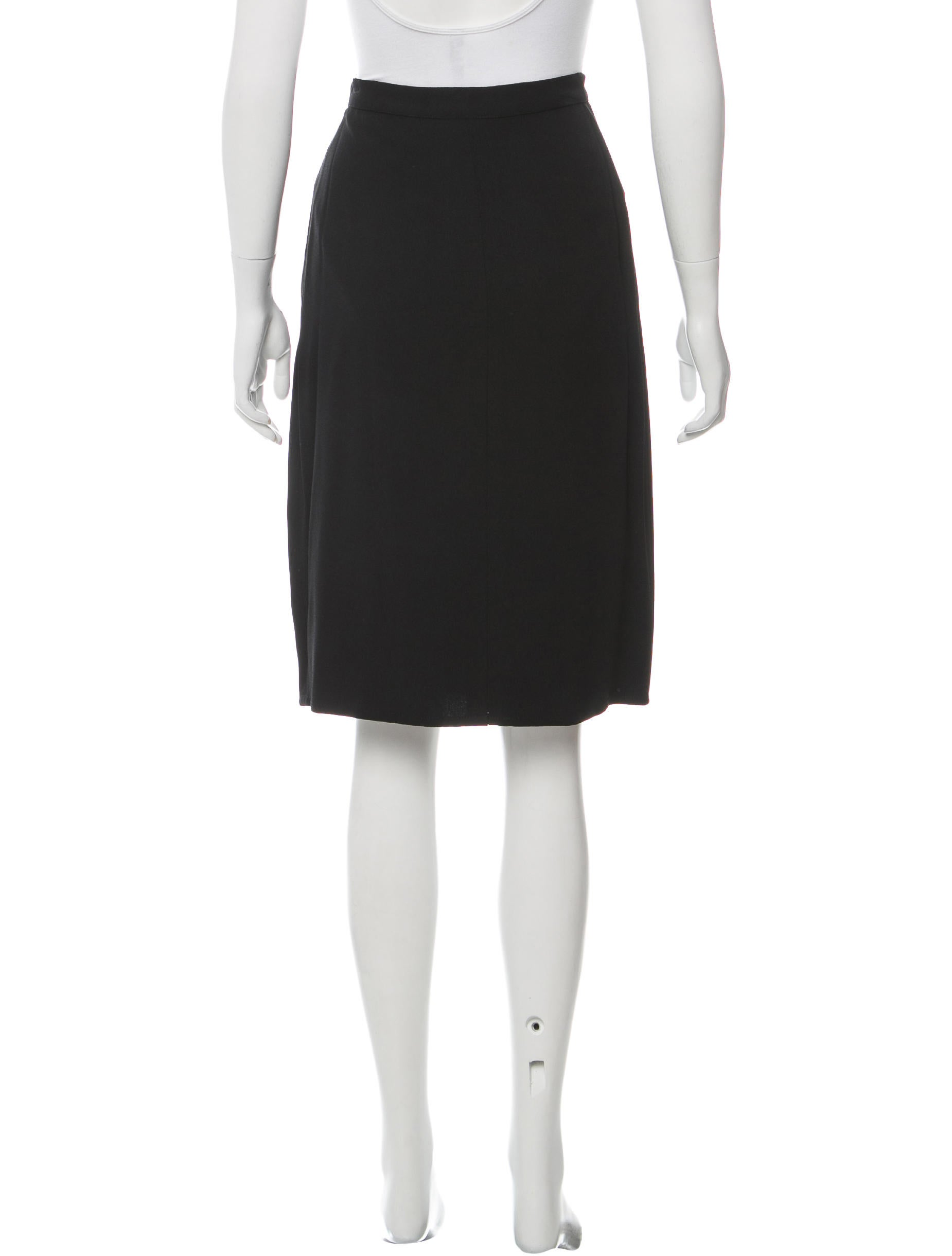 rykiel knee length a line skirt clothing