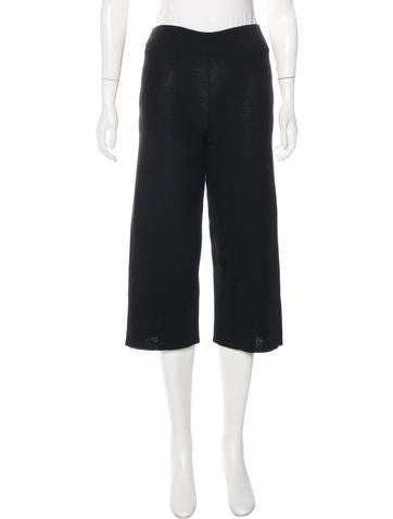 Sonia Rykiel Cropped Knit Pants w/ Tags None