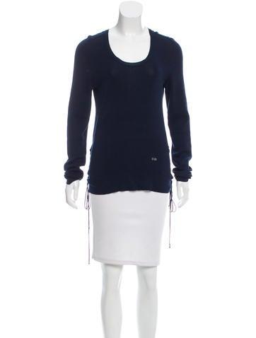 Sonia Rykiel Scoop Neck Knit Sweater None